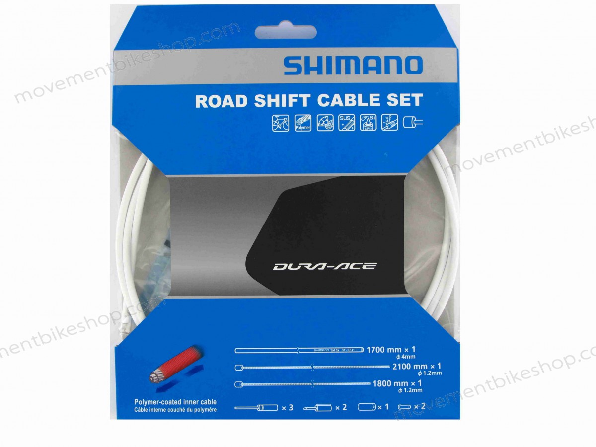 Shimano On Sale - Dura-Ace 9000 Road Gear Cable Set - White Sales Up 44% ✔ ✔ ✔ - Shimano On Sale Dura-Ace 9000 Road Gear Cable Set White Sales Up 44% ✔ ✔ ✔-01-1