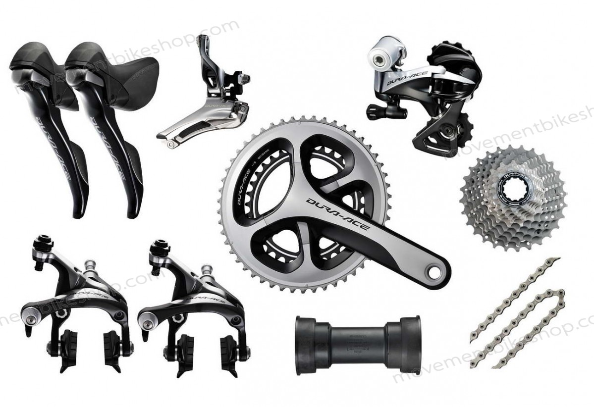 Shimano On Sale - Dura-Ace 9000 11s Groupeset | Crank 172.5mm 53-39 | Cassette 12-25 Of Nice Model ♠ - Shimano On Sale Dura-Ace 9000 11s Groupeset | Crank 172.5mm 53-39 | Cassette 12-25 Of Nice Model ♠-01-0
