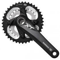 Shimano On Sale XT M785 10 Speed Double Crankset 40.28t Black At a Discount Of ♠ ♠ ♠-20