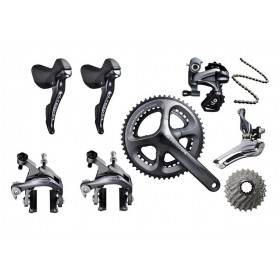 Shimano On Sale - Ultegra 6800 11 Speed Groupset - 172.5mm 50-34t Crankset 11-28t Cassette With Lower Price ★ ★ ★